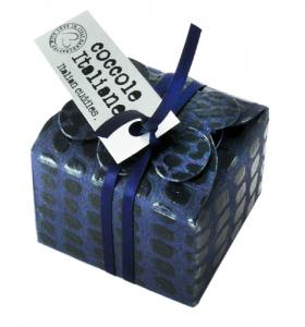 Mini floret Croco ribbon - blue