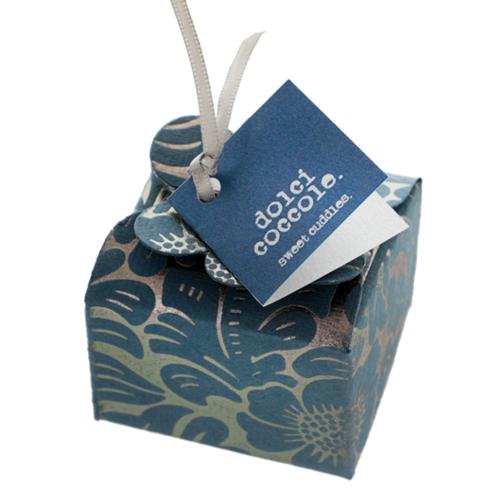 Mini floret Floral ribbon - blue