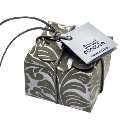 Mini floret Floral ribbon - grey