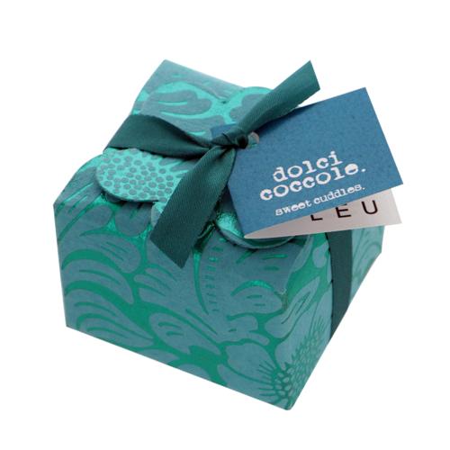 Mini floret Floral ribbon - turquoise