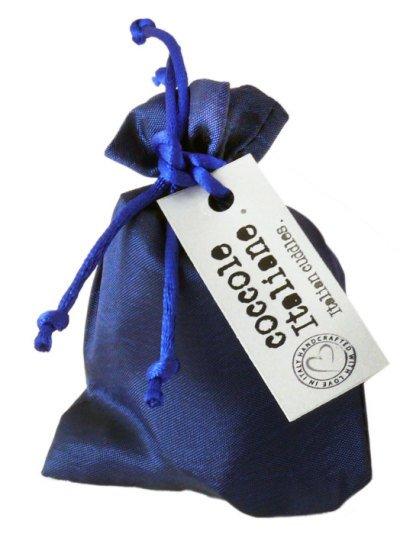 Mini taffetà blue