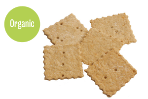Oat organic crackers