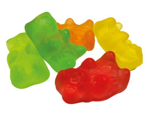 Gummy bears - 75 gr  (2,65 oz)