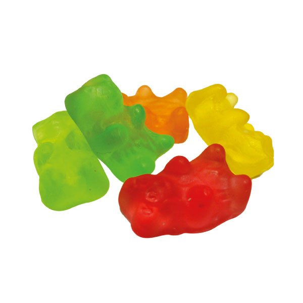 Gummy bears - 50 gr  (1,76 oz)