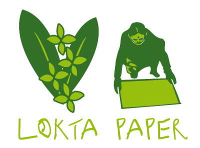 Blocco-Lokta-paper-tutto-verde