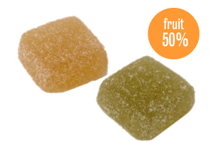 Spicy jelly cubes