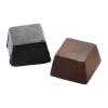 Cube dark chocolate